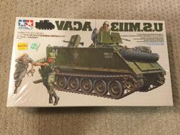 Tamiya U.S.M113 Acav Tank 1:35 Scale Plastic Model Kit No. 3
