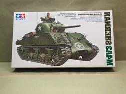 TAMIYA U.S.Medium M4A3 Sherman Tank 1/35 SCALE MODEL KIT NO.