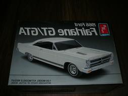 UNBUILT AMT 1966 Ford Fairlane GT/GTA 390  335HP Muscle Car-