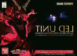 Bandai Unicorn Gundam Perfect Grade LED Unit PG 1/60 RX-0 Mo