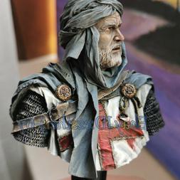 Unpainted 1/10  Ancient Knight Bust Man Resin Figure Model K