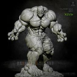 Unpainted 1/24 75MM Angry Hulk Resin Figure Model Kit Unasse