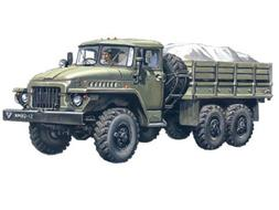 ICM Models Ural-375D Army Truck Building Kit