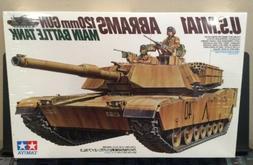 Tamiya US M1A1 Abrams  120mm Gun Battle Tank Model 1/35 Scal