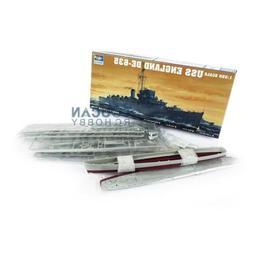 US Stock 1/350 USS Destroyer Escort DE-635 05305 Warship Tru