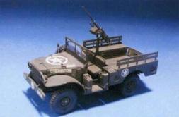 AFV Club US WC51 3/4-Ton 4x4 Jeep -- Plastic Model Military