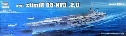 uss nimitz cvn68 1975 aircraft carrier model