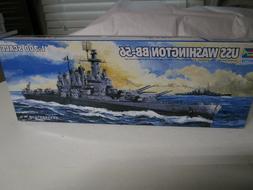 "USS ""WASHINGTON"" BB-56 Battleship in 1/700 by Trumpeter #573"