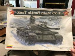 Lindberg USSR T-55 Main Battle Tank Model Kit 1/35th Israeli