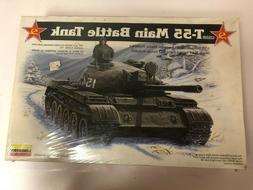 Lindberg USSR T-55 Main Battle Tank Model Kit 1/35th Israeli