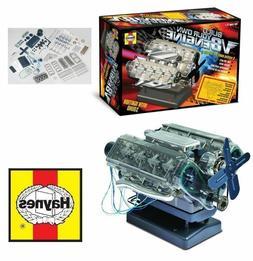 Haynes V8 Combustion Engine Model Kit Build Your Own Interna