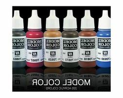 Vallejo Model Color & Liquid Gold Acrylic Paint 17 ML - Many