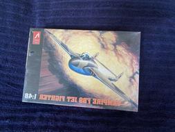 HobbyCraft  Vampire FB9 Jet Fighter Plastic Model Airplane S
