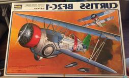 Vintage 1/32 CURTISS BF2C-1 US Navy Biplane Fighter Bomber H