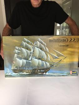 Vintage 1:96 Revell USS Constitution Old Ironsides H-398 Shi
