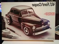 Vintage Testors 1948 Ford Coupe Mint Factory Sealed model ki