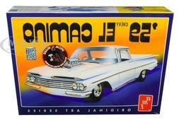 Vintage AMT 1959 Chevrolet El Camnio PRO BUILT Scaled in 1/2