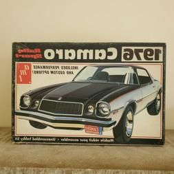 Vintage AMT 1976 Camaro Rally Sport Model Kit T473 NEW OPEN