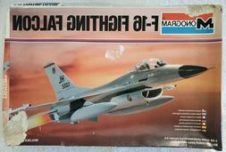 Vintage 1980 Monogram F-16 Fighting Falcon 1/48 Scale Model