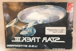 VINTAGE 1984 AMT ERTL STAR TREK III USS Enterprise Sealed Mo