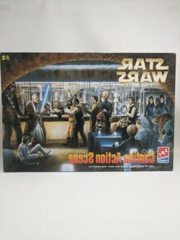 Vintage AMT/ERTL Star Wars Cantina Action Scene Model Kit