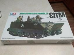 VINTAGE TAMIYA M113 U. S. ARMOURED PERSONNEL CARRIER 1/35 MO