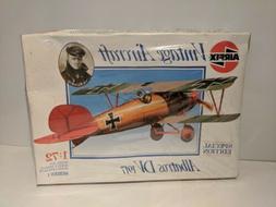 VINTAGE MODEL AIRPLANE KIT - 1/72 AIRFIX ALBATROS DV 1917 #