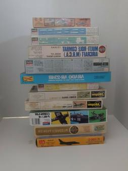 Vintage model Airplane Lot Of 12. NOS airfix pm model hasega