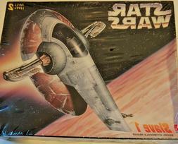 VINTAGE NEW Star Wars Slave 1 Model Toy Kit 1997 AMT/ERTL Ma