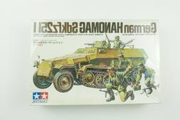 Vintage Sealed German Hanomag Sdkfz 251/1 1:35 Tamiya Model