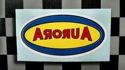 Vintage Style Aurora Model Kit Manufacturer Sticker • Deca
