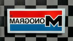 Vintage Style MONOGRAM Model Kit Manufacturer Sticker • De