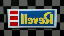 Vintage Style REVELL Model Kit Manufacturer Sticker • Deca
