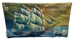 """Vintage Revell USS Constitution """"Old Ironsides"""" 1:96 Shi"""