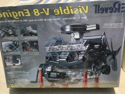 Revell Visible V-8 Engine 1/4 Scale 85-8883 Model Kit NEW Se