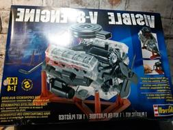 Revell Visible V-8 Engine 1/4 Scale With Moving Pistons And