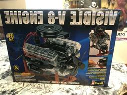 REVELL Visible V-8 Engine 1:4 Scale Model New Open Box