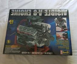 Revell Visible V-8 Engine 1/4 Scale #85-8883 Plastic Model K