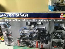 REVELL VISIBLE V-8 ENGINE 1/4 SCALE MODEL KIT #85-8883  SEAL