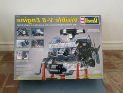 Revell Visible V-8 Engine 1/4 Scale 85-8883 Model Kit NEW