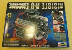 Visible V-8 Engine Revell Mechanics Engineering Kit Experien