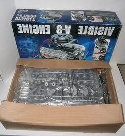 Revell Visible V-8 Engine Model 1/4 Scale 85-8883 NEW IN OPE