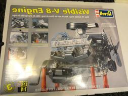 Revell - Visible V8 Engine 1/4 Scale Plastic Model Kit #85-8