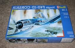 Revell Vought F4U-1A Corsair 1/32 scale airplane model kit n