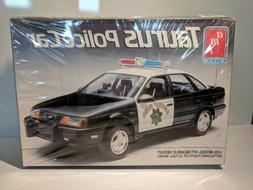 VTG AMT ERTL 1/25 TAURUS POLICE CAR MODEL KIT FACTORY SEALED