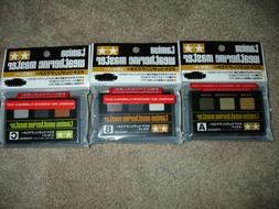 TAMIYA Weathering Master Sets A,B,C Model kit paints Lot of