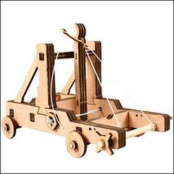 Young Modeler Wooden Model Kit_Education Series Mangonel: ho