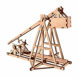 Young Modeler Wooden Model Kit_Education Series Trebuchet: h