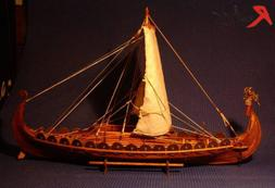 wooden scale sailing boat wood scale ship Viking ships model