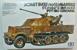 WW II Tamiya German 8t SemiTrack 3.7cm FLAK 37 Sd.kfz. 7/2 #